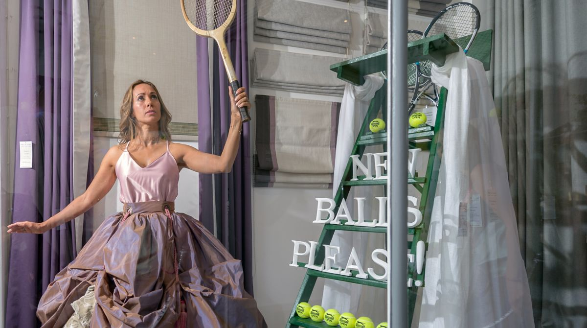 Designers serve up a treat as fashion collections dress Wimbledon ...