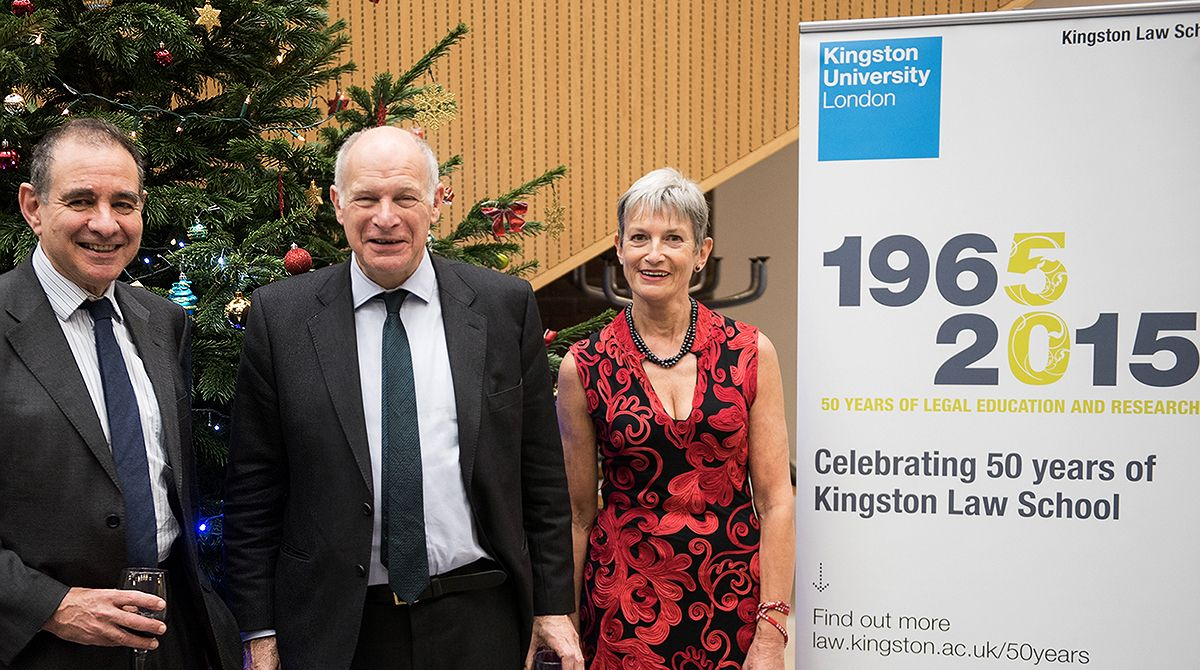 UK Supreme Court President Lord Neuberger talks luck, land law and Prince Charles' letters at Kingston Law School 50th anniversary lecture
