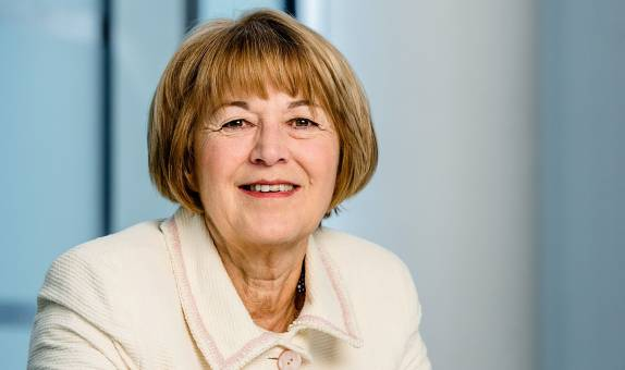 Women's History Month: Former Bupa CEO and Kingston University graduate Val Gooding CBE reflects on career barriers and offers advice to budding business women