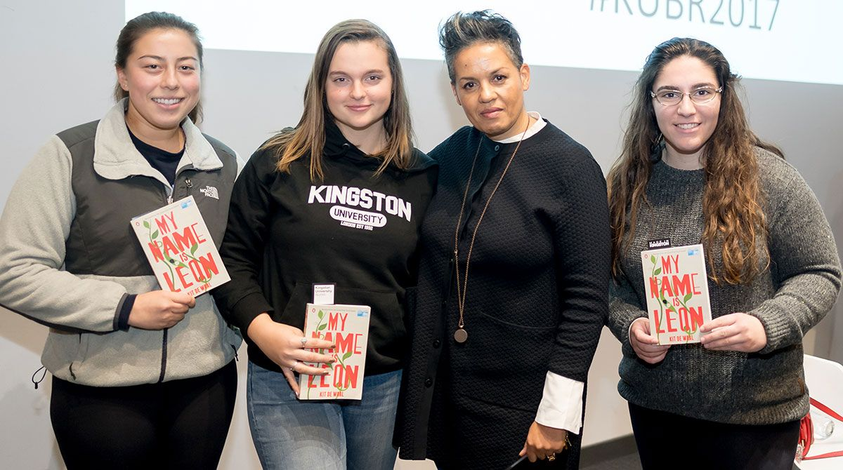 Kingston University Big Read author Kit de Waal talks to fans about difficult choices affecting children in care