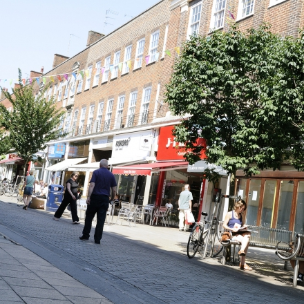 Castle Street features student friendly restaurants