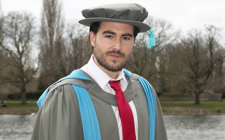 Rocket scientist helping Britain reach for the stars after graduating with PhD following Kingston University studies
