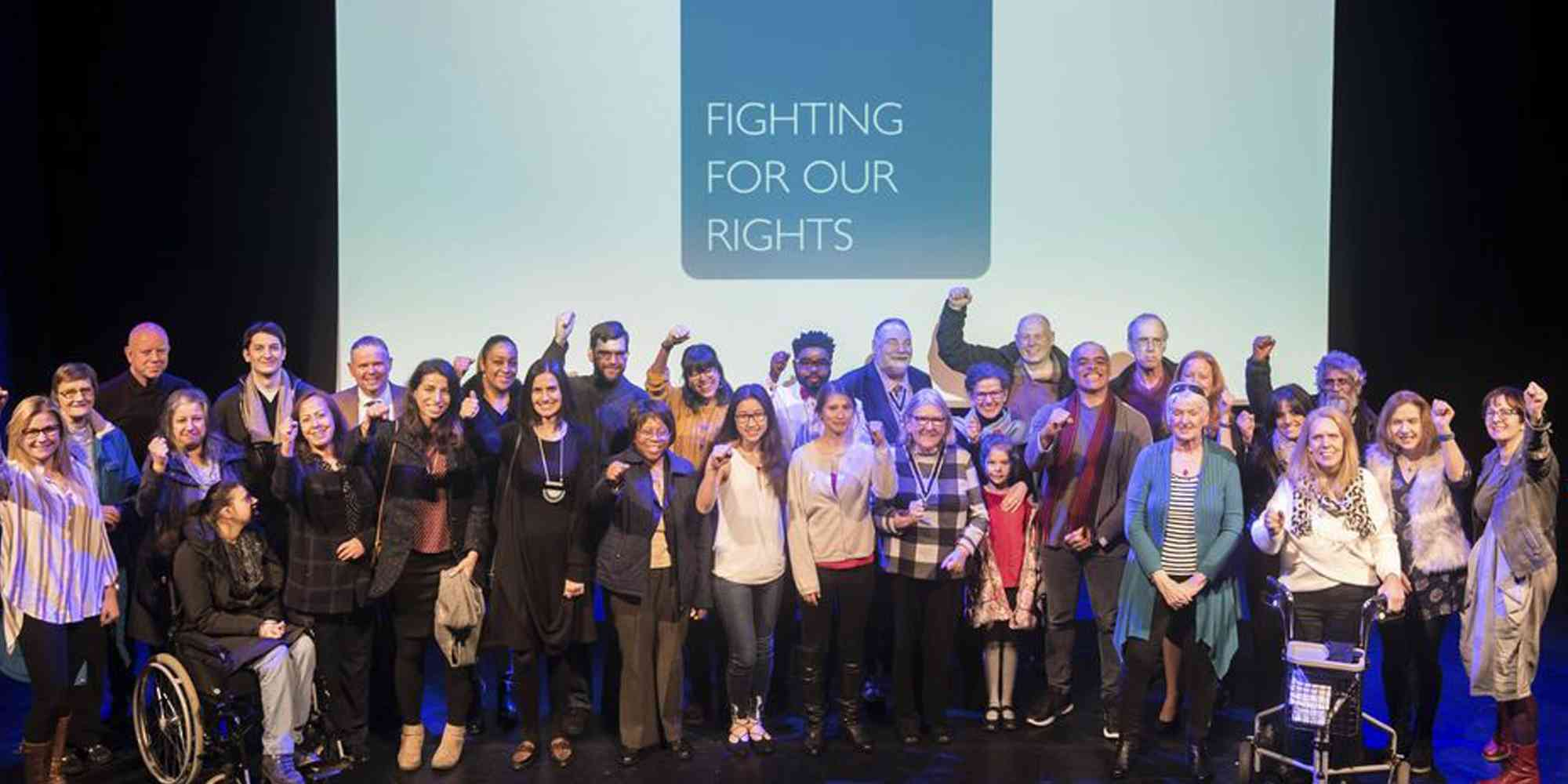 Fighting for our rights end of project celebration (2018) - KCIL, h2h, SIG on Inclusion and Social Justice, schools of Nursing and Education, StoryAID, Orchard Trust with the community