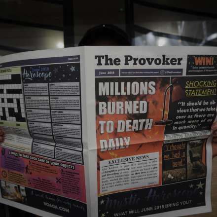 The Provoker – a critical newspaper to reach audiences who would not usually engage with sustainability, by Aureelia Mitt