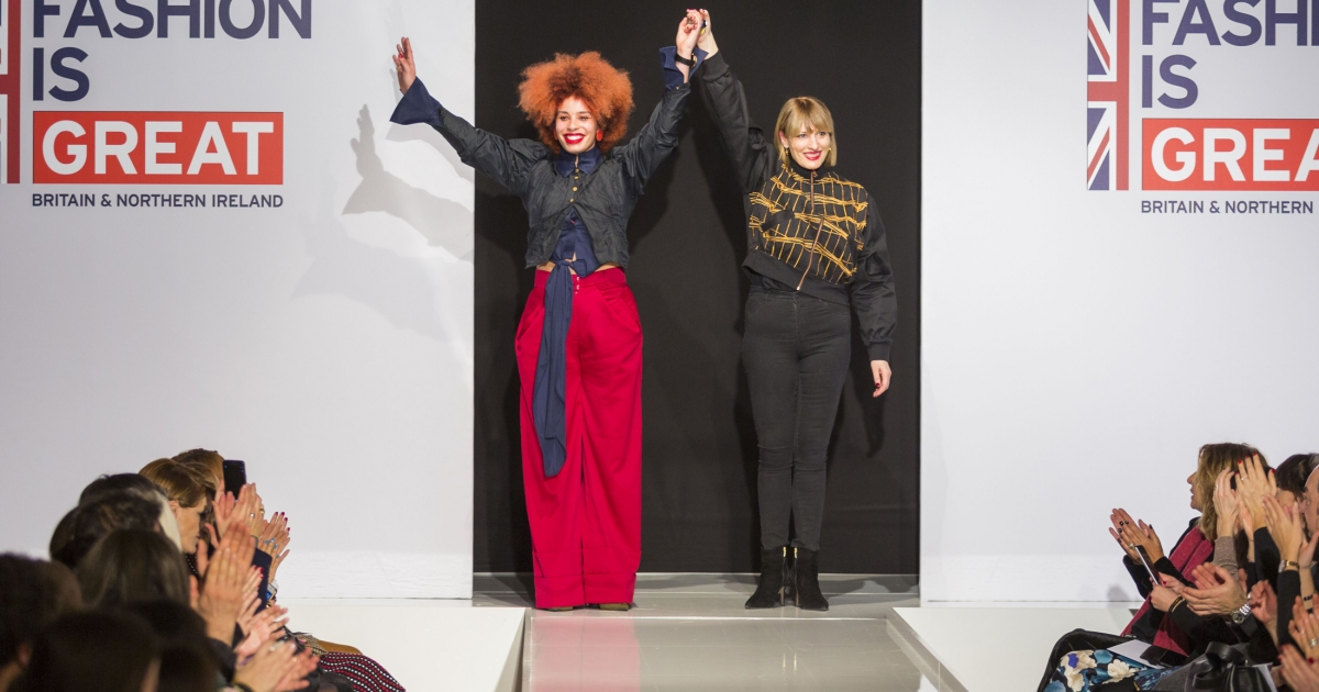 From Altaroma To London Fashion Week Diversity Celebrated On The Catwalk As Kingston School Of Art Fashion Graduate Sadie Clayton S Latest Collection Takes The Style Capitals By Storm News