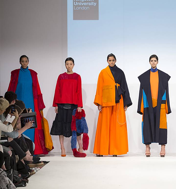 Fashion BA(Hons) show at Graduate Fashion Week 2016