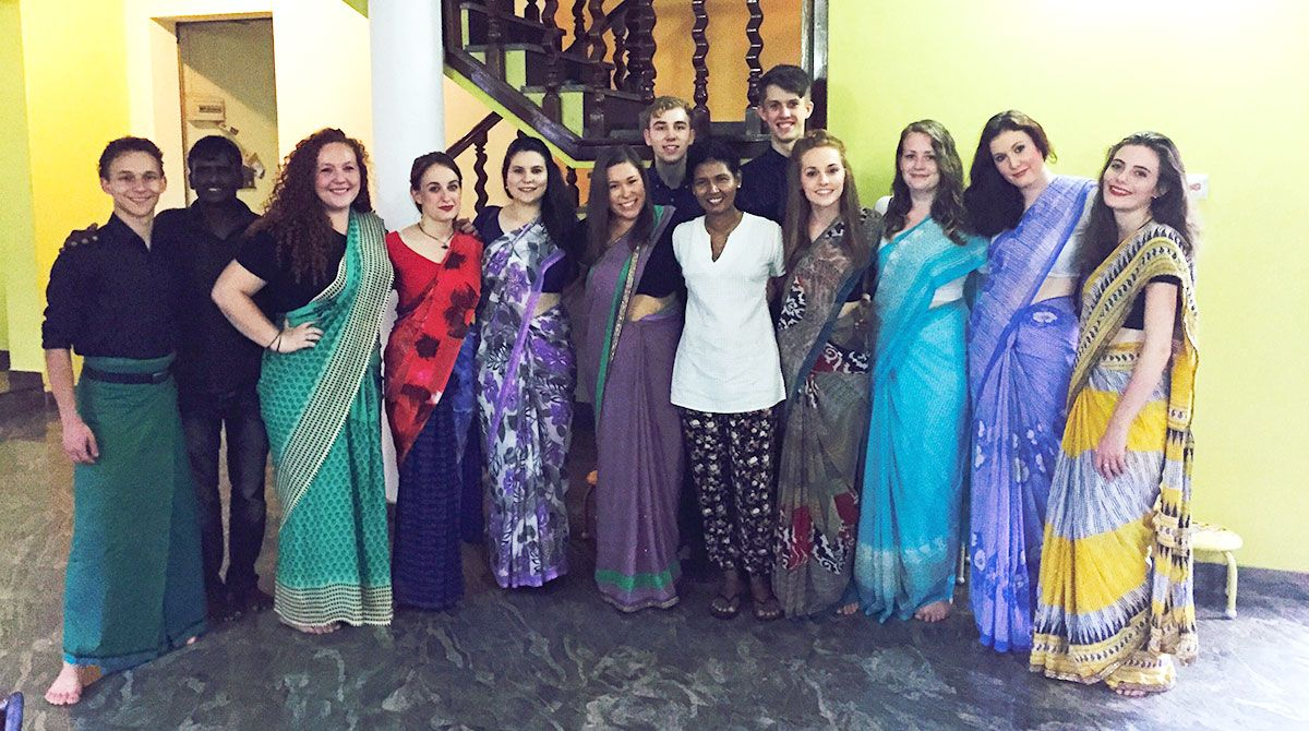 Kingston University psychology graduate uses art and drama therapy to assist people with mental health issues in Sri Lanka