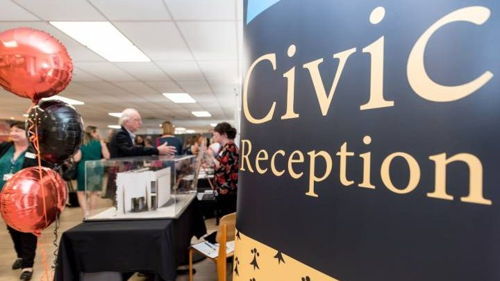 Kingston University Civic Reception 2018