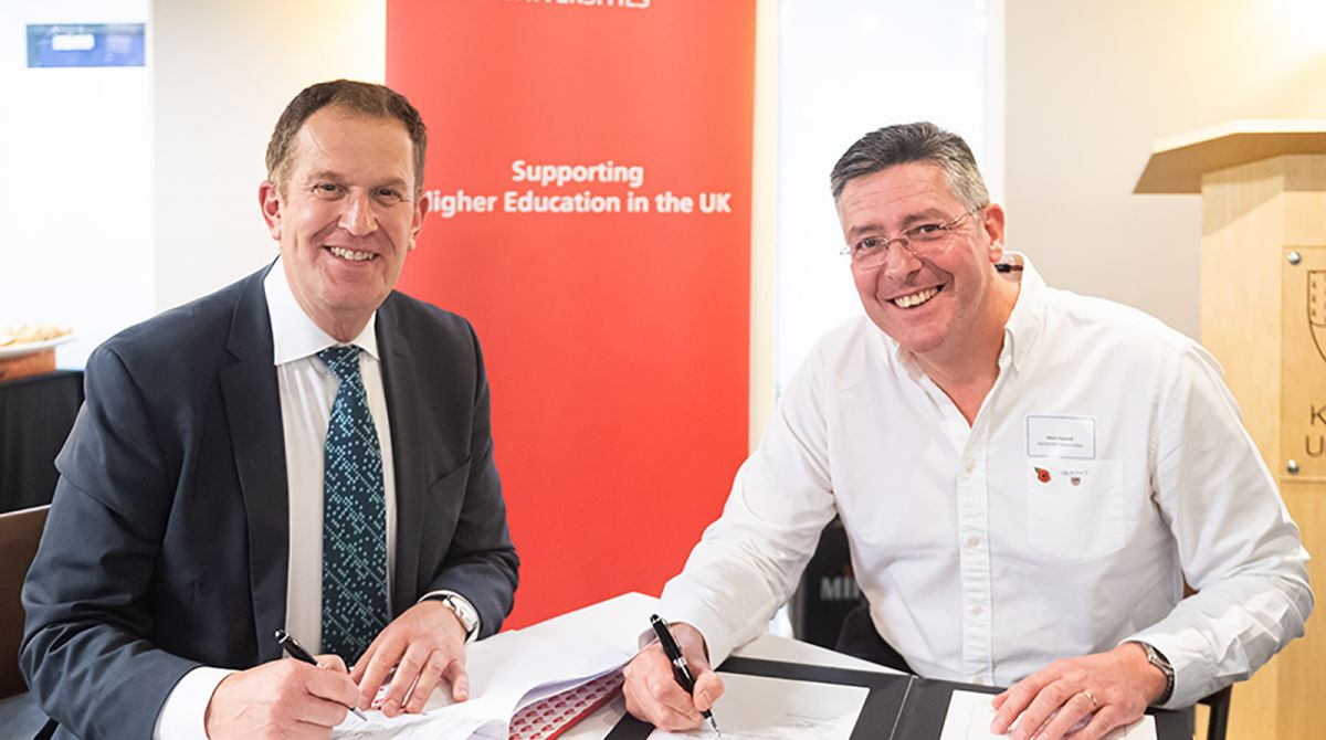 Kingston University seals new three year partnership with Santander Universities to boost enterprise and education opportunities for students