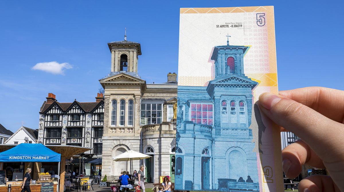 Kingston School of Art students bank on their creative talent in designs for local currency the Kingston Pound