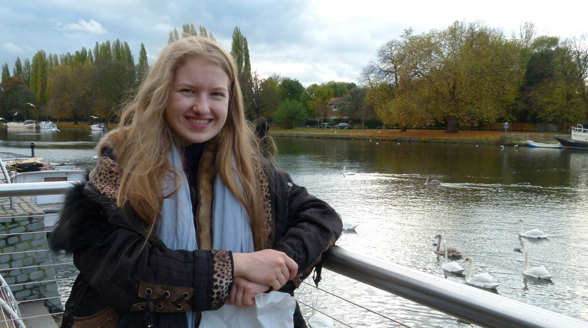 US student becomes one of youngest ever to enrol for PhD at Kingston University after signing up for psychology programme aged just 17