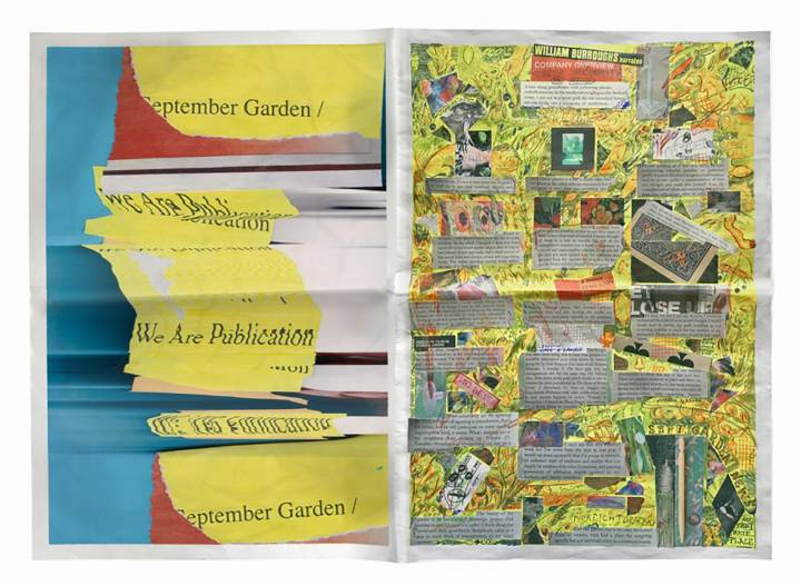 We Are Publication: Placement does not explain, but cultivates a September garden
