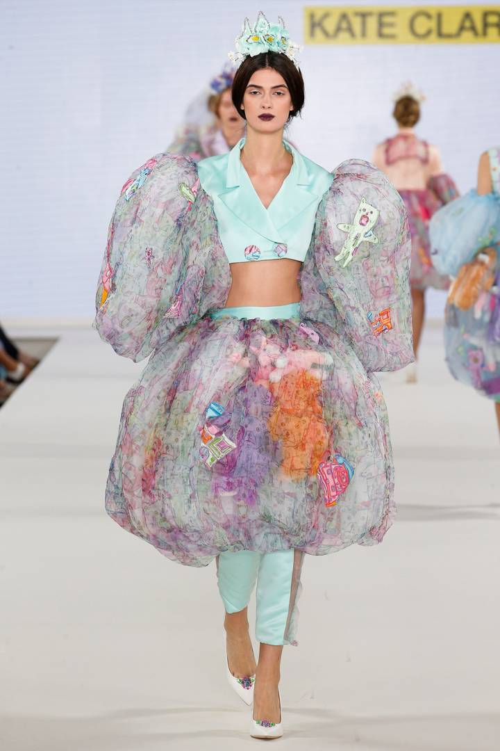 Fashion BA(Hons) show at Graduate Fashion Week 2018
