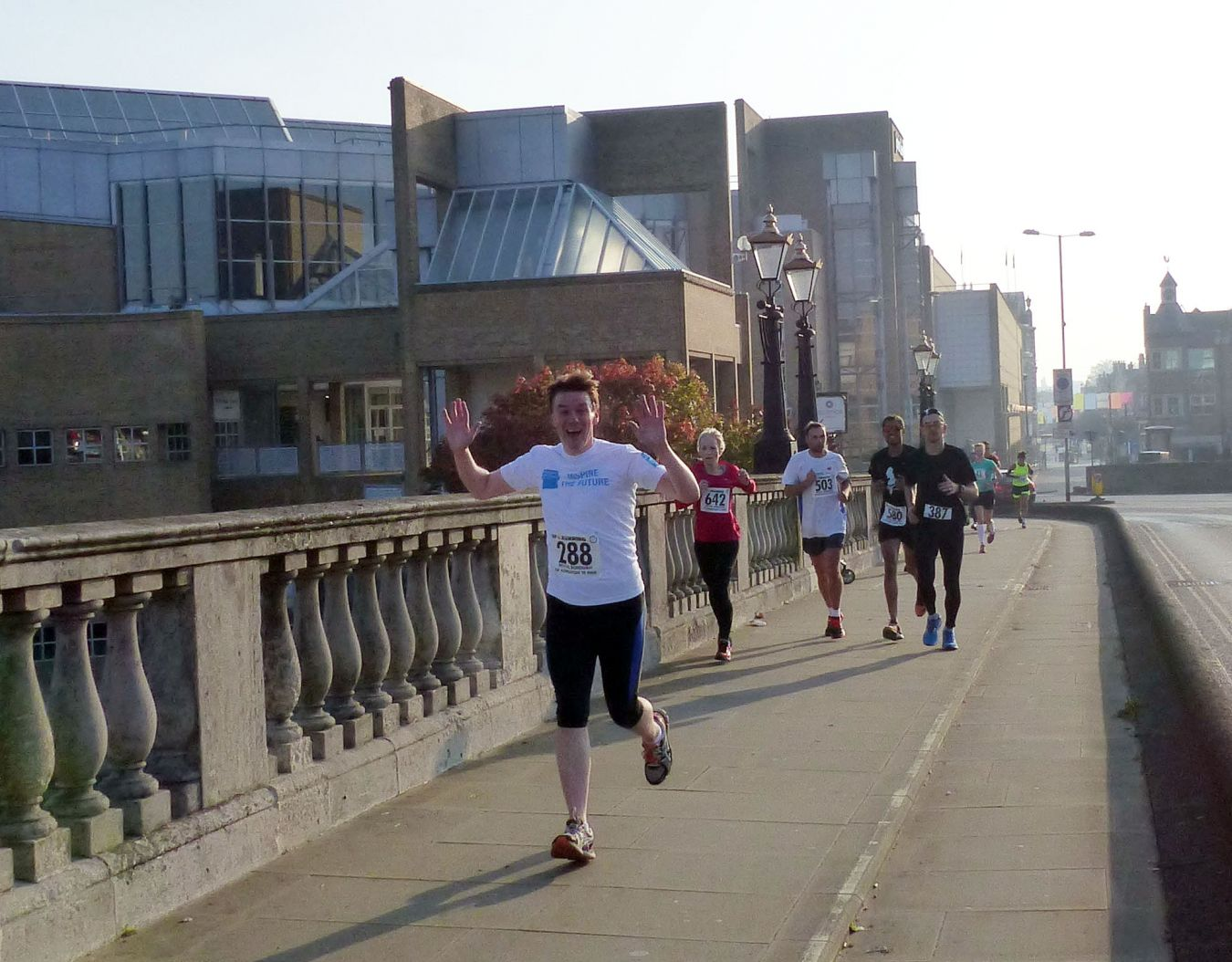 James Keeley running the Royal Borough of Kingston 10-mile run