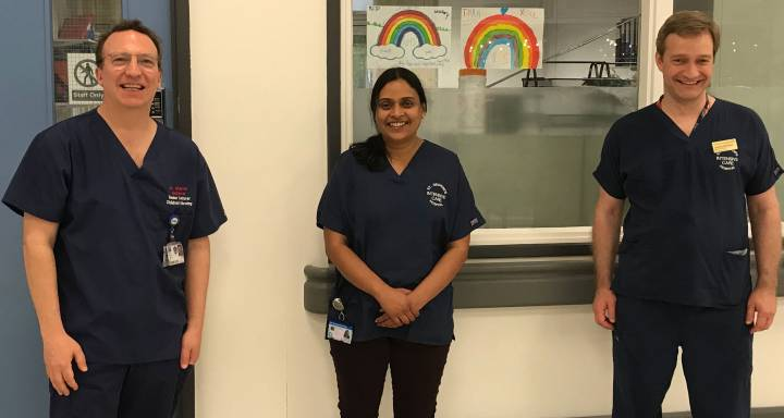 Vital intensive care training delivered to frontline NHS workers during Covid-19 pandemic by nursing experts from Kingston University and St George's, University of London