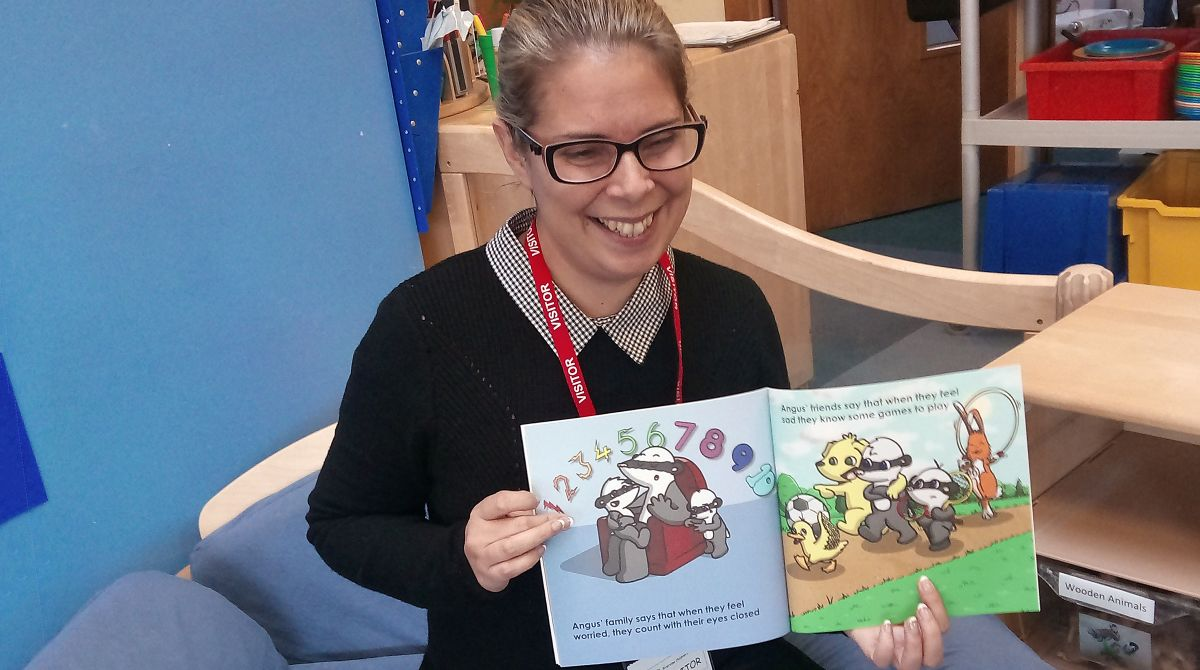 Children's book by Nursing Times Rising Star Award-winning Kingston University graduate helps young people express emotions through language