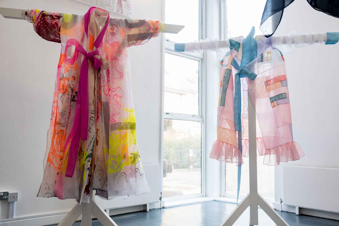 The Hanbok interpretations created by students from Kingston School of Art were displayed at the University\'s Stanley Picker Gallery.