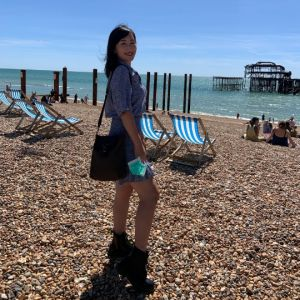 I-Ling, MFA Fine Art student at Kingston University