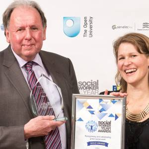 Kingston University expert urges rethink on public sector funding as he is honoured for outstanding contribution at Social Worker of Year Awards