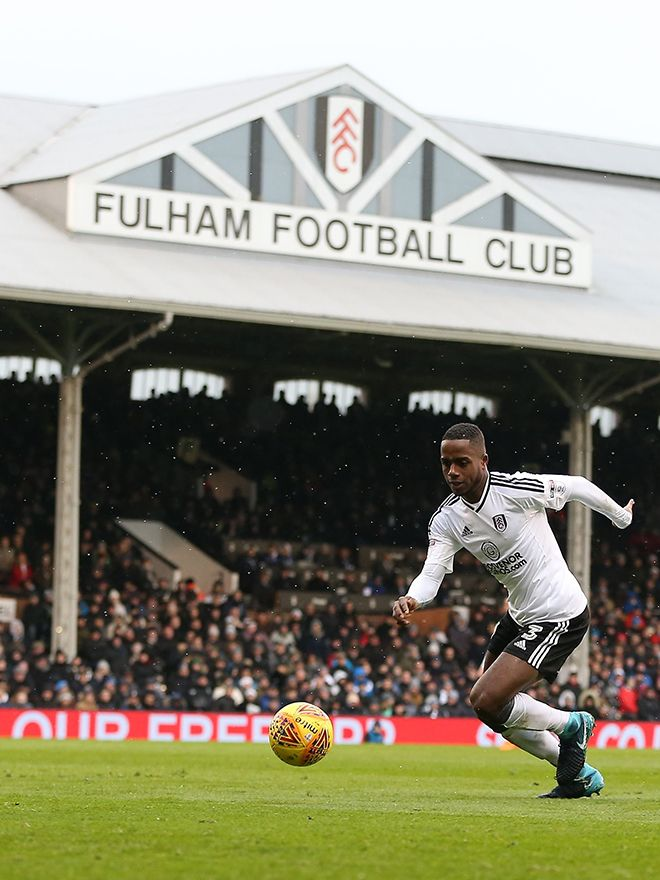 Ryan Sessegnon runs with the ball at Craven Cottage