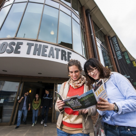 The Rose Theatre hosts a variety of events from plays to gigs