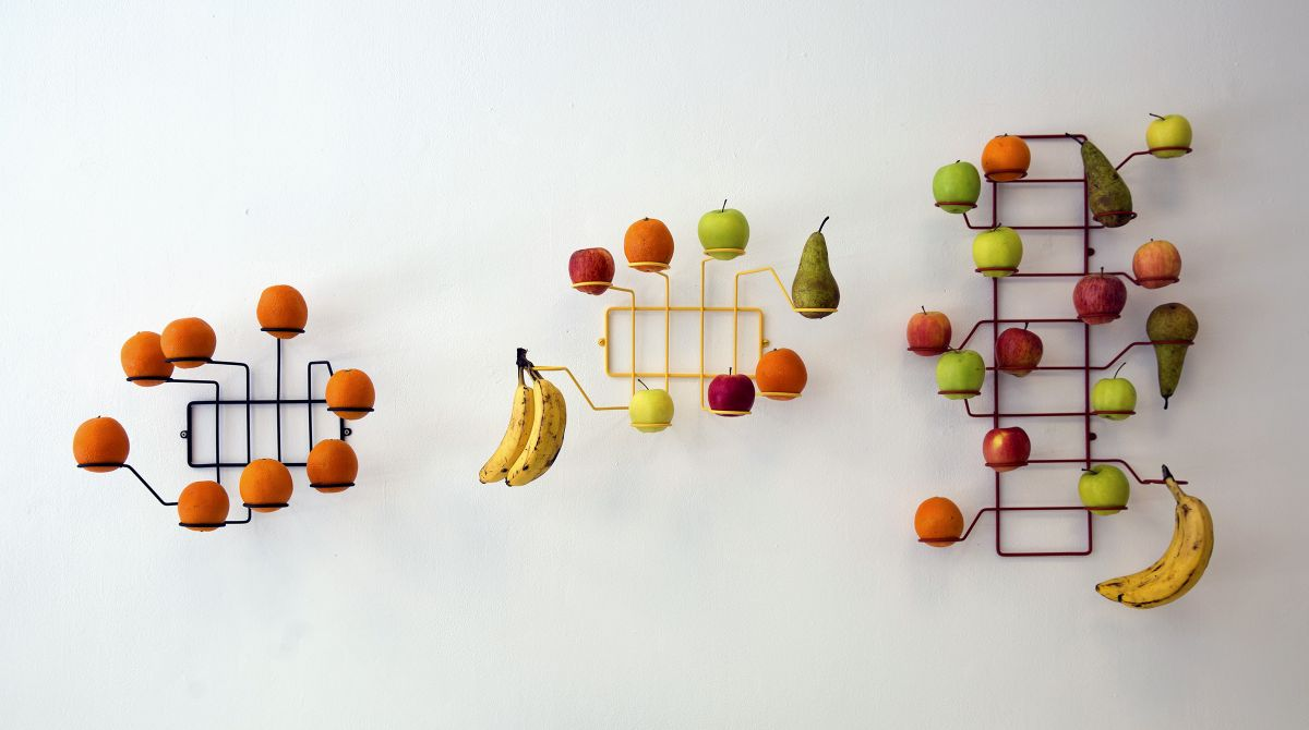 Kingston University student's wall-mounted alternative to fruit bowl aims to encourage healthy eating and cut down food waste
