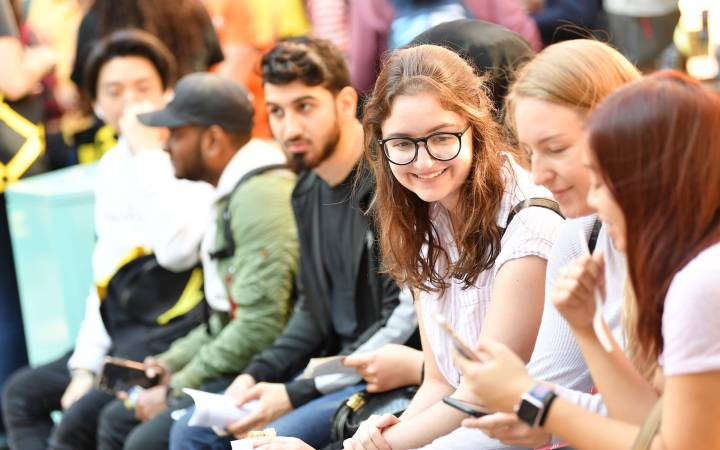 Four Kingston University subjects secure 100 per cent for overall satisfaction in this year's National Student Survey
