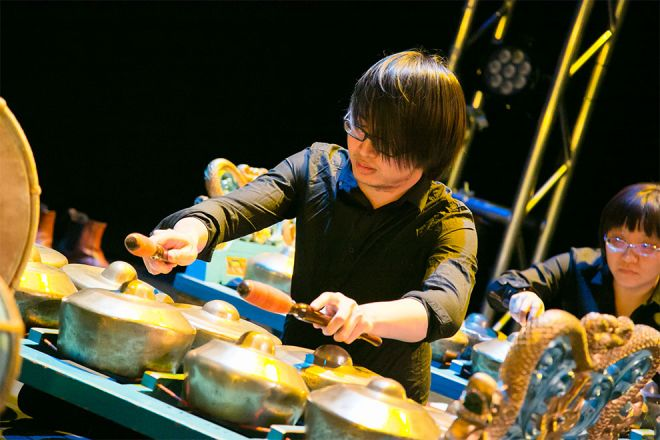 Gamelan performance at Kingston Onstage
