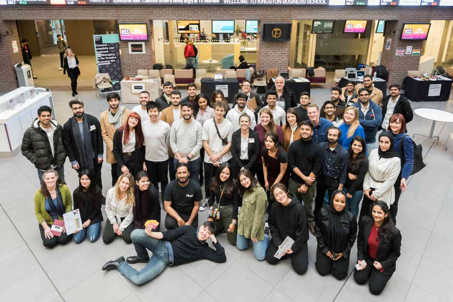 Kingston Business School Start-up Trade Fair, January 2019 - Kingston Business School Start-up Trade Fair, January 2019