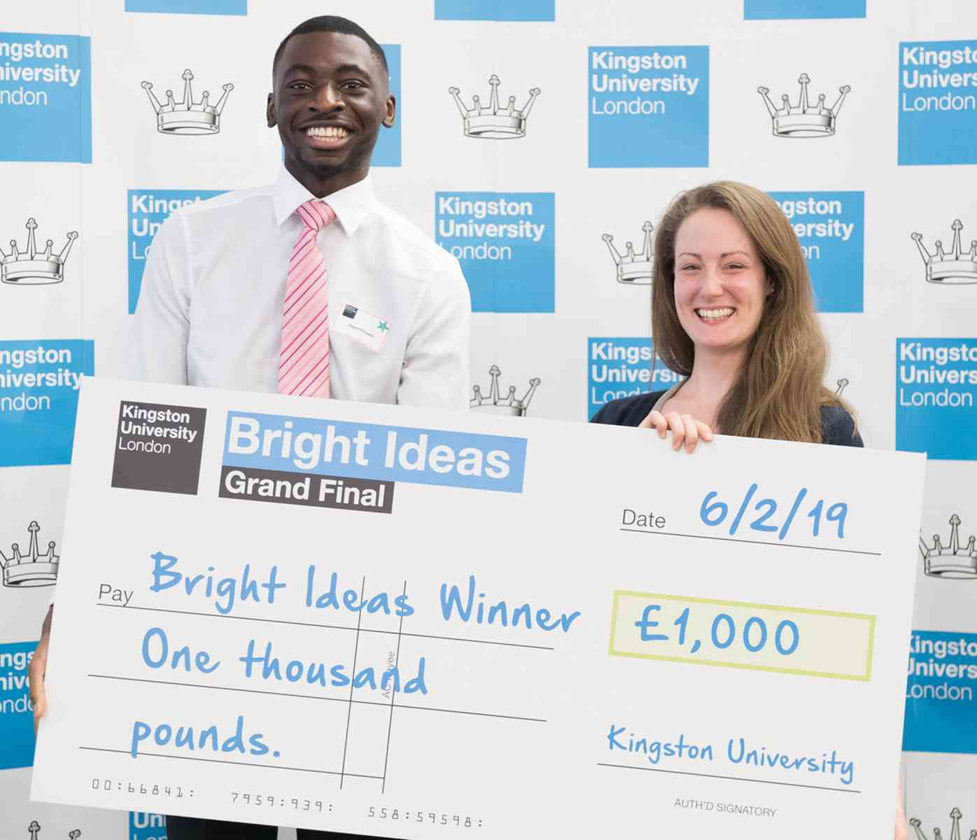 Bright Ideas prize winners