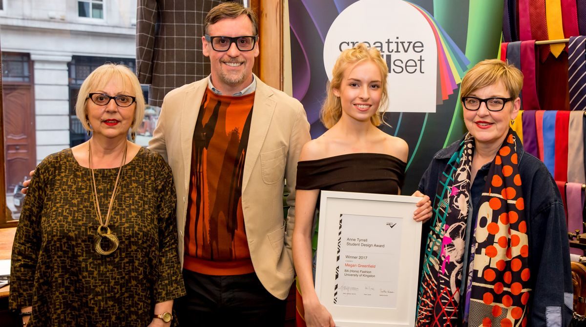 Kingston University fashion student wins Creative Skillset Anne Tyrrell Student Design Award