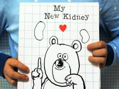 Kingston University illustration graduate hopes crowdfunding will enable roll out of project to help children undergoing kidney transplants