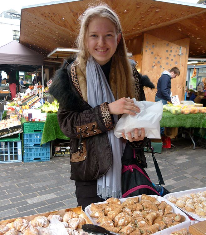 Kingston University PhD student Angela Medvedeva explores the Kingston University marketplace