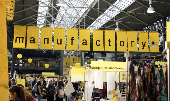 Kingston School of Art's Design School takes over Spitalfields Market as part of the London Design Festival