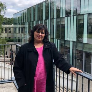 A champion of inclusivity and campus community at Kingston University and St George's, University of London awarded National Teaching Fellowship