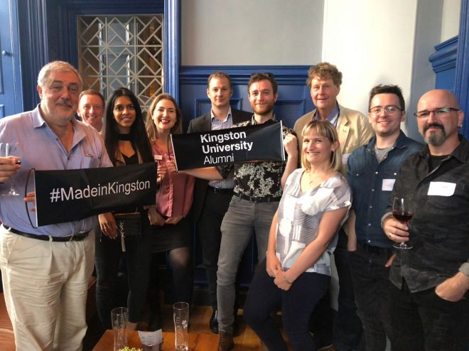 Kingston University alumni reunion in Edinburgh