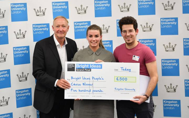 Thinking outside the sustainable box – Kingston University students showcase their pioneering business ideas at 15th annual Bright Ideas competition