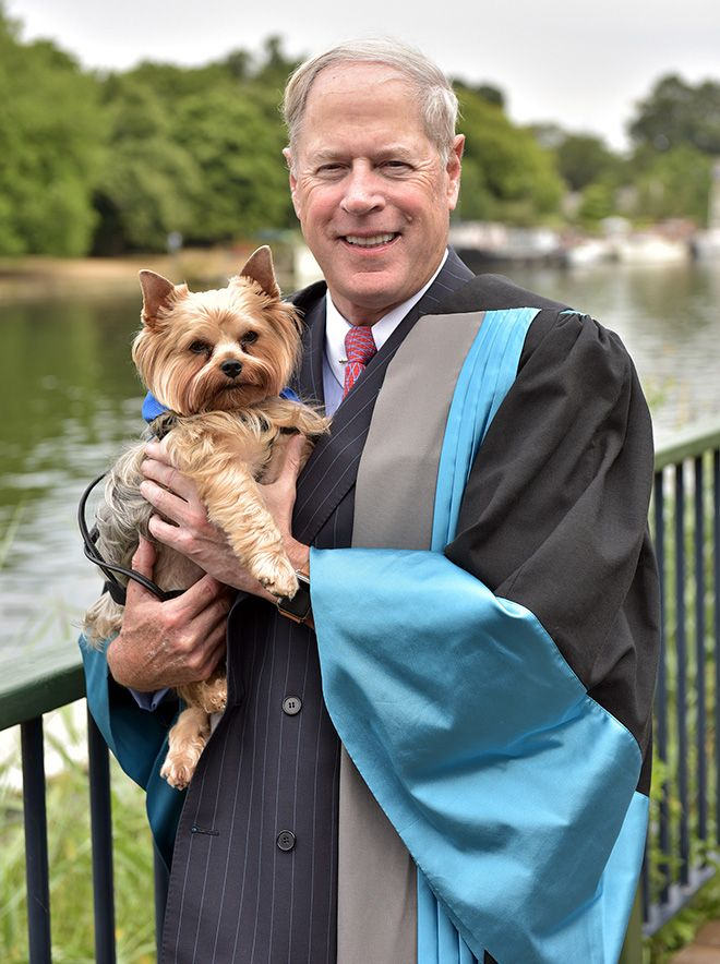 A photo of Metro Bank Chairman Vernon Hill