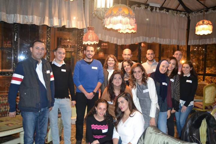 Kingston University alumni reunion in Jordan