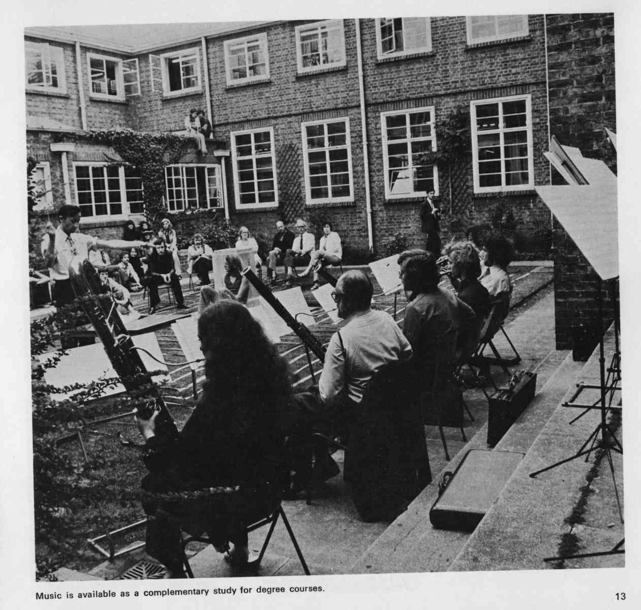 Music in the Quad - 1973, Chris Thomas