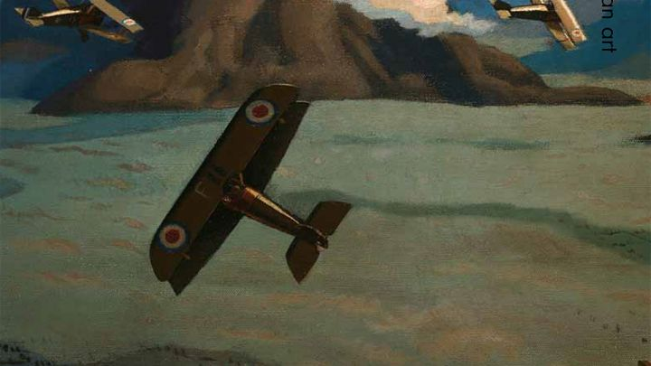'Soaring into the Cerulean Blue': Sydney Carline as Fighter Pilot and War Artist