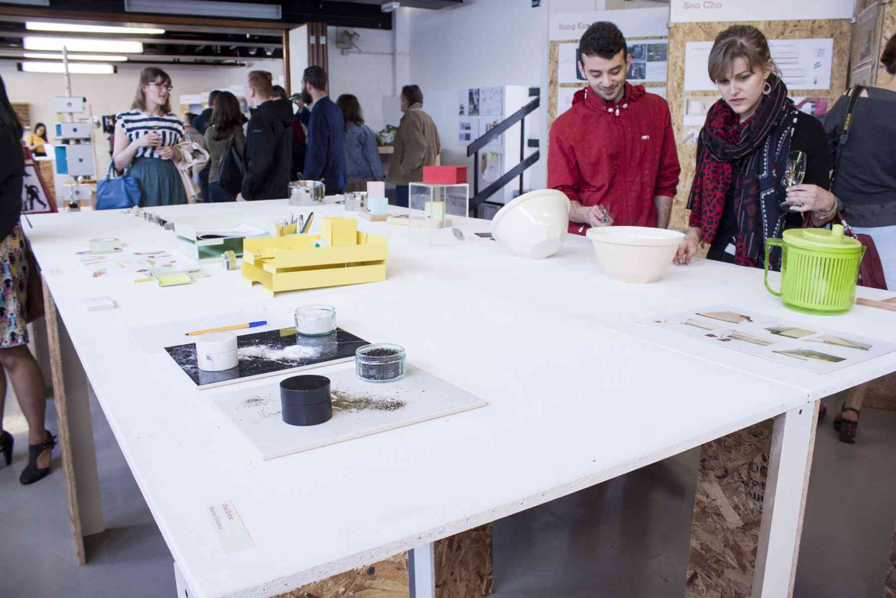 Undergraduate end of year degree show - Product and Furniture design exhibition
