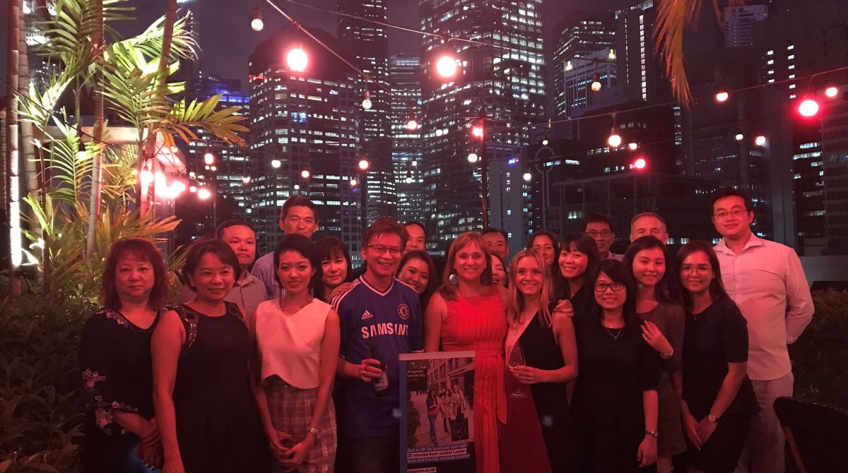 Kingston Business School alumni reunite in Singapore