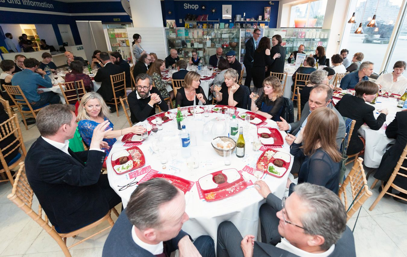 A supper was held at the Design Museum to celebrate 15 years of the MA Curating Contemporary Design course