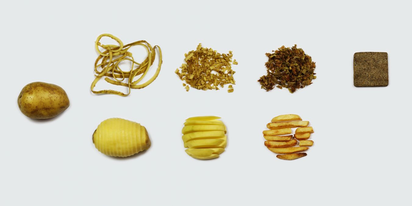 Chip[s] Board turns the waste from potatoes into an alternative to MDF.