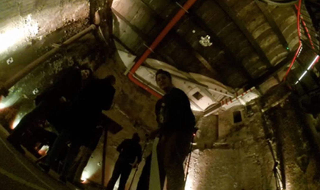Kingston University students captured the eerie atmosphere of the Thames Tunnel on camera