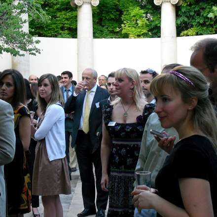 Graduate Reception in Athens, May 2010