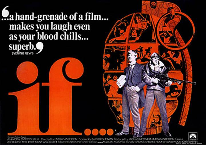 Film Event: Celebrating 50 years of Lindsay Anderson's if...