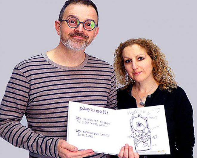 Illustration alumna Georgina Potier raised funds for her book  'My New Kidney' on Kingston's crowdfunding platform, KU Backer