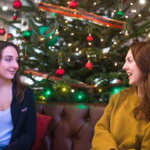 Supporting Kingston University's KU Cares students over Christmas